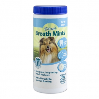 8 in 1 Excel с ментолом для собак с проблемой полости рта 200 таб