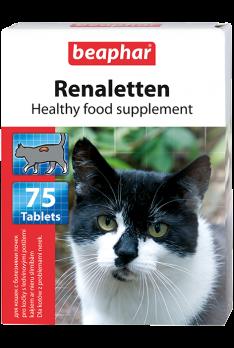 Beaphar Витамины д/кошек с проблемными почками (Renaletten), 75шт.