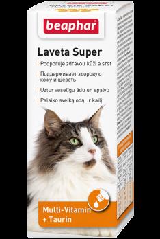 Beaphar Витамины для кожи и шерсти Кошек, масло (Laveta Super for Cats)