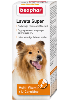 Beaphar Витамины для кожи и шерсти Собак, масло (Laveta Super for Dogs)