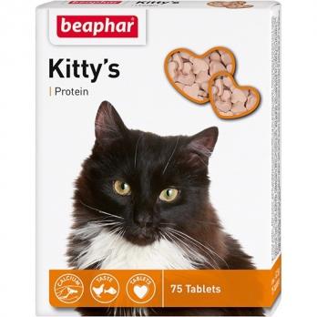Beaphar Kitty's Protein Витамины для кошек с протеином, рыбки