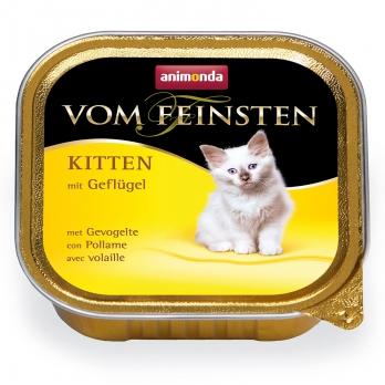 Animonda Vom Feinsten Kitten кон.д/котят с мясом Домашней птицы 100г