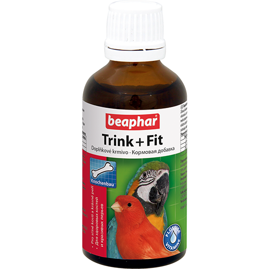 Beaphar Trink+Fit Birds 50мл витамины д/птиц