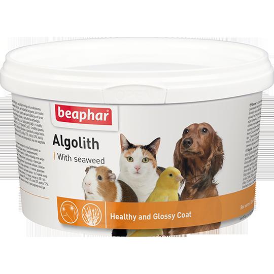 Beaphar Минеральная смесь для шерсти кошек и собак на основе морских водорослей для кошек и собак (Algolith)