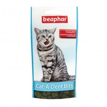 Beaphar Подушечки для чистки зубов у кошек (Cat-a-Dent Bits), 75шт.