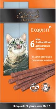 Edel Cat деликатесные колбаски с ягненком
