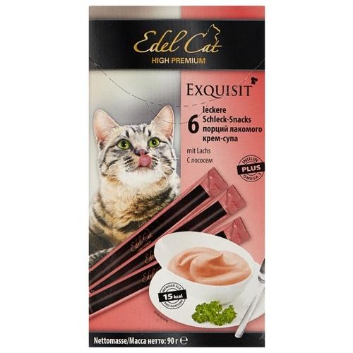 Edel Cat Крем-суп д/кошек с лососем