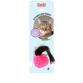 GoSi Игрушка д/кошек Шар с норкой звенящий