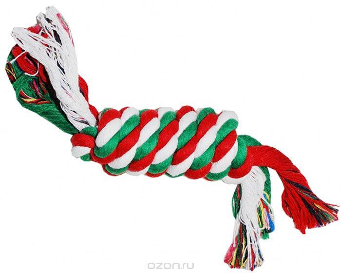 N1 Игрушка для собак Грейфер веревка плетеная 22см