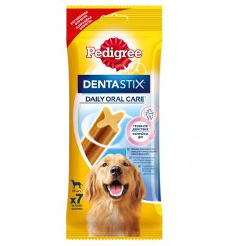 Pedigree DentaStix лакомство д/собак более 25 кг 7 палочек