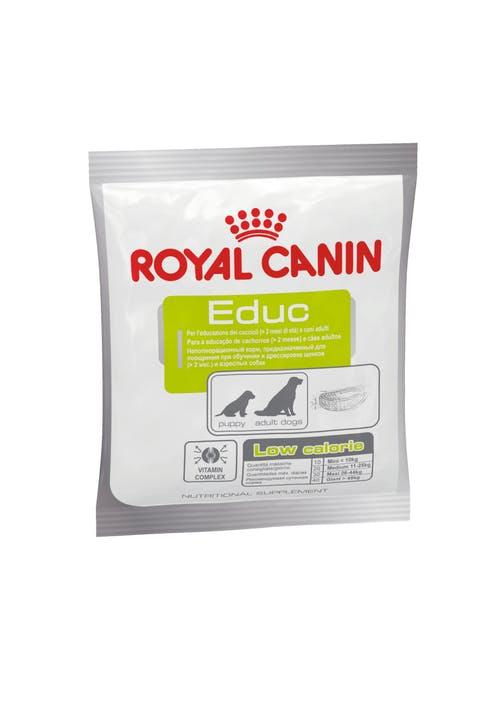 Royal Canin EDUC (ЭДЬЮК) Неполнорационный продукт для поощрения при обучении и дрессировке 0,05