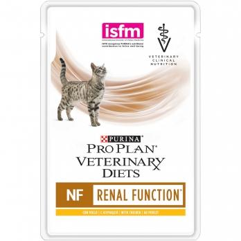 Pro Plan Veterinary diets NF консервы корм для кошек при патологии почек, с курицей 85 г