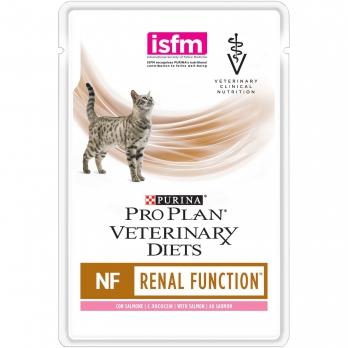 Pro Plan Veterinary diets NF консервы корм для кошек при патологии почек, с лососем 85 г