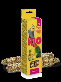 Рио Палочки для средних попугаев с Тропическими фруктами 2шт*75г
