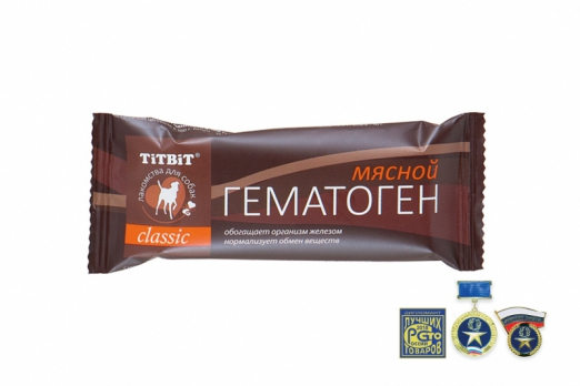 TiTBiT Гематоген мясной classic