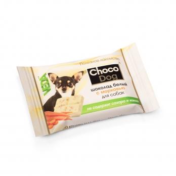 Веда Choco Dog Шоколад белый с морковью для собак
