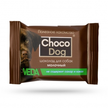 Веда Choco Dog Шоколад молочный для собак, 15 г