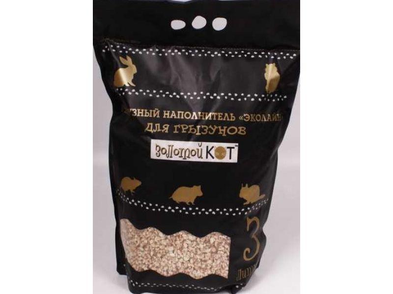 Золотой кот кукурузный наполнитель
