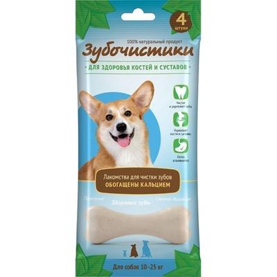 Зубочистики Кальциевые для собак средних пород, 4шт/90г