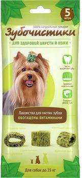 Зубочистки для здоровья шерсти и кожи 5шт