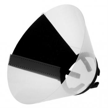 Талисмед Воротник пластиковый защитный на липучке №10, обхват шеи 24-29см