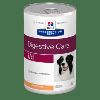 Hill's I/D консервы для собак, при проблемах ЖКТ 360г