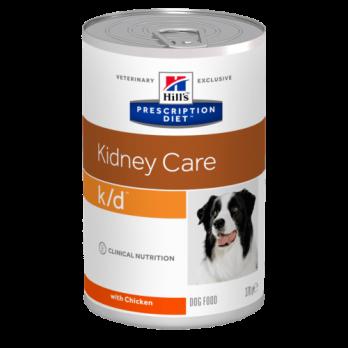 Hill's K/D консервированный корм для собак, для лечения почек, 370 г