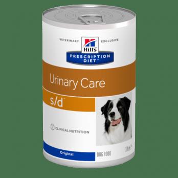 Hill's S/D консервы для собак для растворения струвитов 370г