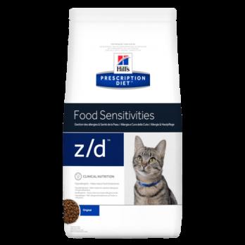 Hill's Z/D сухой корм для кошек, для лечения острых пищевых аллергий 2 кг