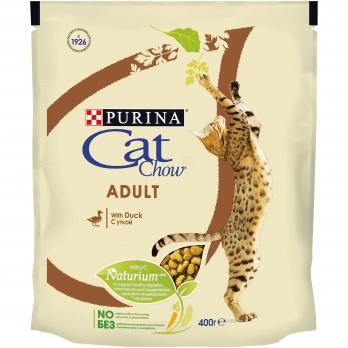 Cat Chow Adult для взрослых кошек с уткой