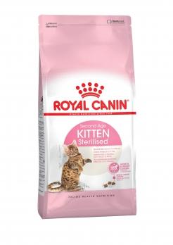 Royal Canin Kitten Sterilized для стерилизованных котят с момента операции до 12 мес.