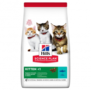 Hill's Kitten сухой корм для котят, тунец