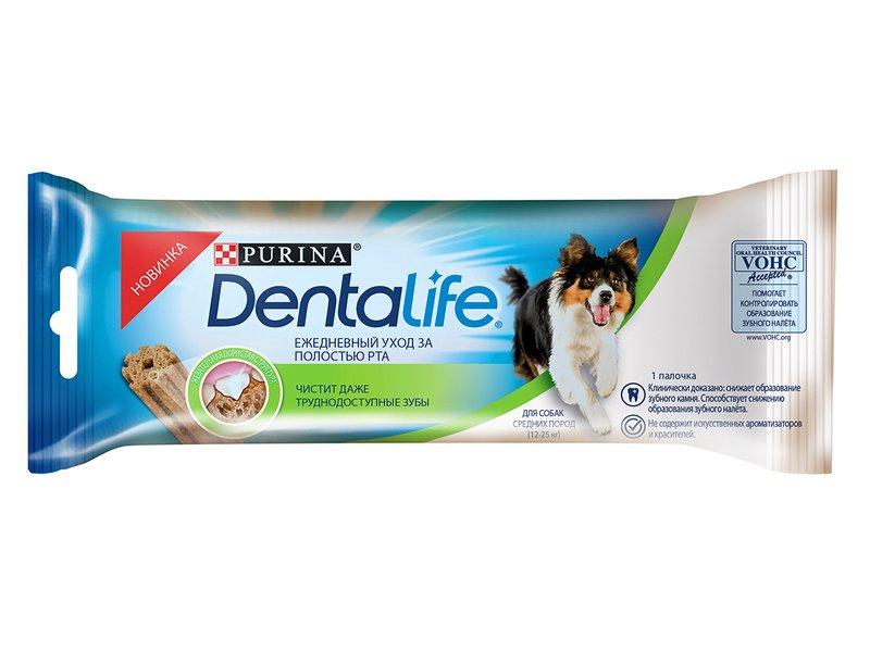 Purina DentaLife для собак средних пород 23 г