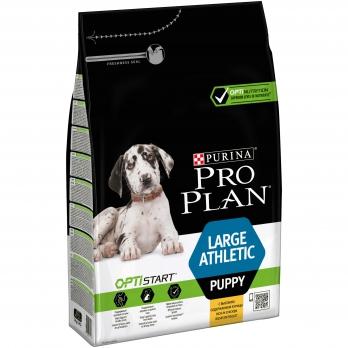 Pro Plan Lardge Athletic Puppy для щенков крупных пород с атлетическим телосложением с курицей и рисом