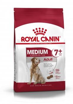 Royal Canin Medium Adult 7+ для пожилых собак средних размеров: 11-25 кг, 7-10 лет