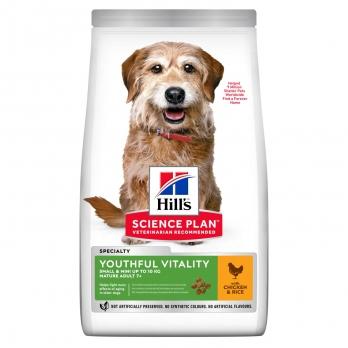 Hill's Youthful Vitality сухой корм для пожилых собак мелких пород 7+, курица