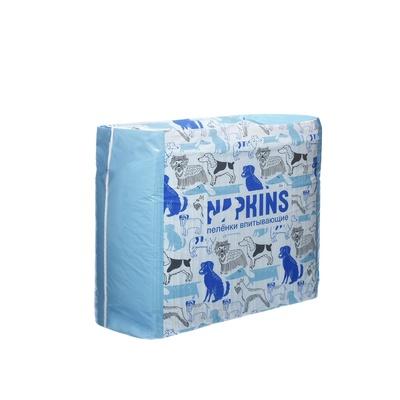 Napkins Впитывающие пеленки для собак (гелевые) 60*40см, 30шт.