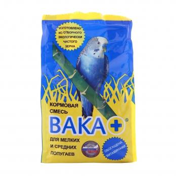 ВАКА плюс корм для мелких и средних попугаев 500г п/э