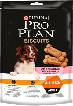 Pro Plan Biscuts Печенье для собак с лососем и рисом 400г