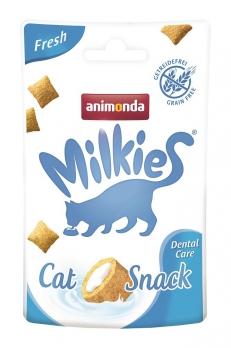 Animonda Лакомство д/кошек Milkies Fresh Dental Care для очистки зубов 30г
