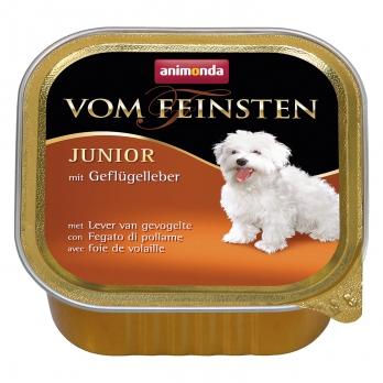 Animonda Vom Feinsten Junior кон.д/щенков и юниоров с Печенью домашней птицы 150г