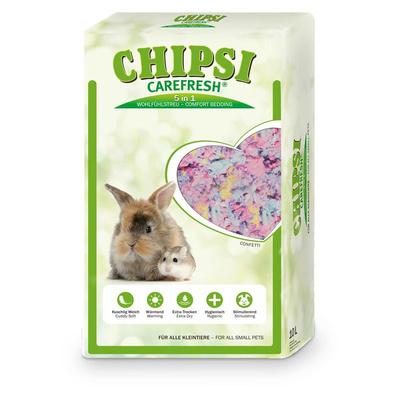 CareFresh Confetti Наполнитель бумажный разноцветный д/мелких домашних животных, рептилий и птиц 10л