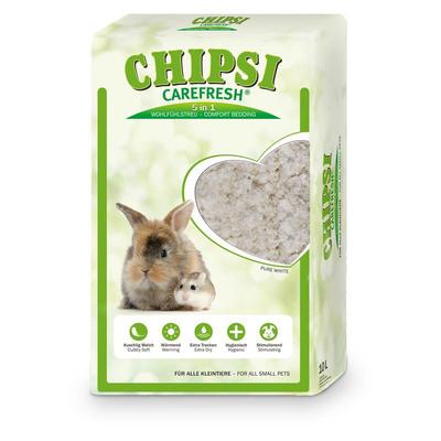 CareFresh Ultra Наполнитель бумажный белый д/мелких домашних животных, рептилий и птиц 10л