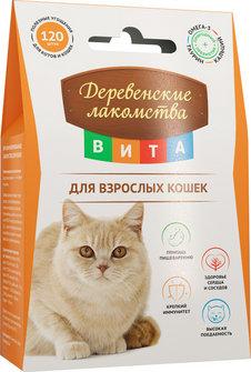 Деревенские лакомства ВИТА для кошек 60г