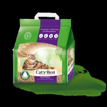 Cat's Best Smart Pellets Наполнитель древесный комкующийся