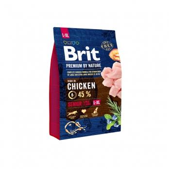 Brit Premium By Nature Senior L+XL сухой корм для пожилых собак крупных и гигантских пород 15кг