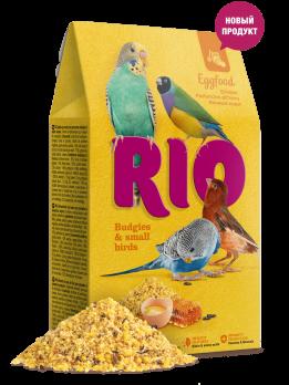Рио Яичный корм для волнистых попугаев и других мелких птиц 250г