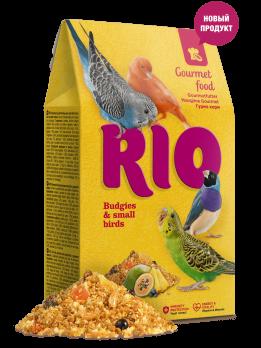 Рио Гурмэ корм для волнистых попугаев и других мелких птиц 250г
