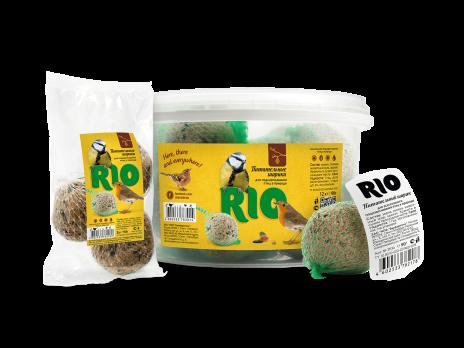 Рио Лакомство для птиц Питательный шарик 90г