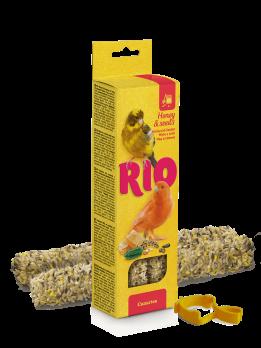 Рио Палочки для канареек с Медом и полезными семенами 2шт*40г